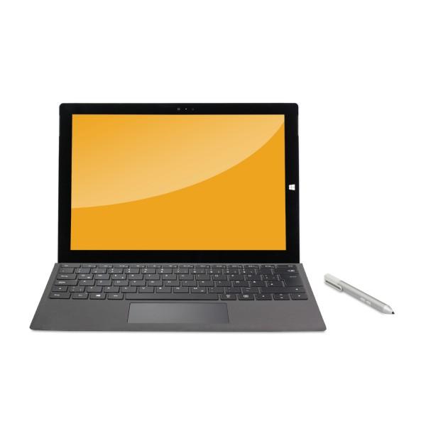 Microsoft - Surface Pro 3 - 256GB SSD inkl. Stylus inkl. Tastatur Dock Win 10 Pro