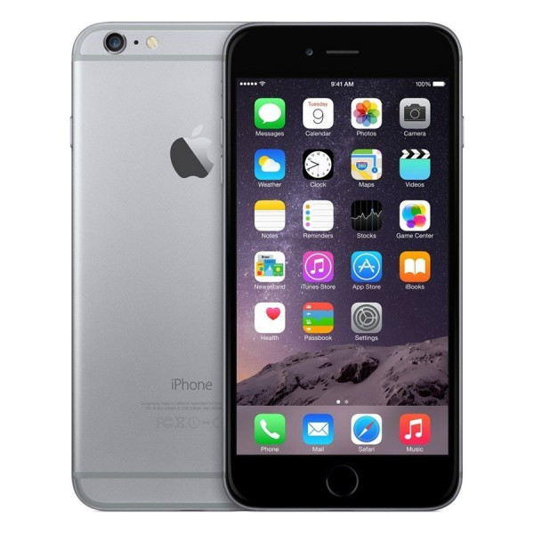 Apple, Inc. - iPhone 6 Plus GSM+CDMA 64GB Space Gray - 64 GB