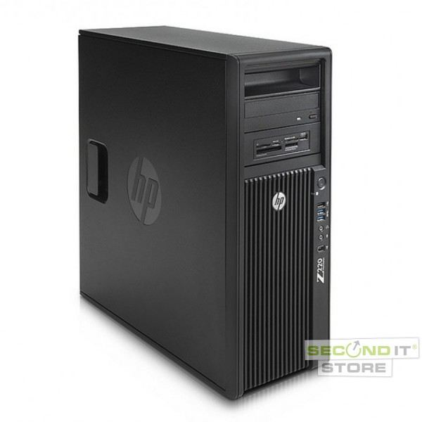 Hewlett-Packard - HP Z220 CMT Workstation - 16 GB 256 GB HDD Win 10 Pro