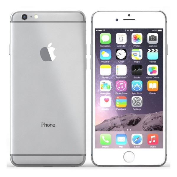 Apple, Inc. - iPhone 6 GSM+CDMA 64GB Silver MG4H2 - 64 GB