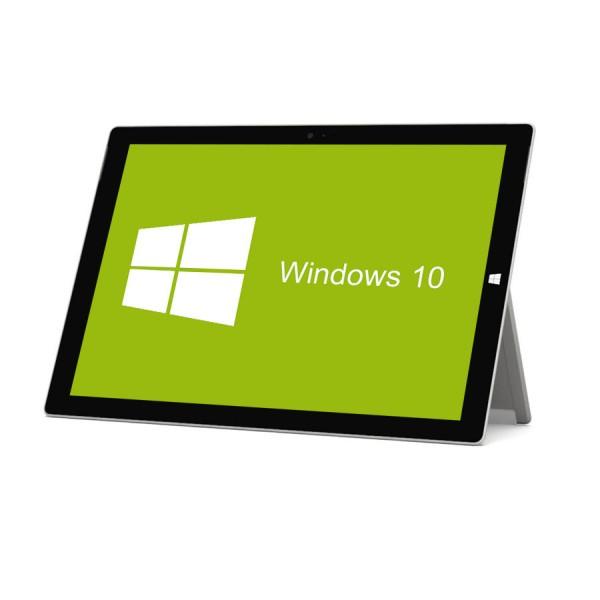 Microsoft - Surface pro 3 - 128 GB SSD inkl. Tastatur Dock inkl. Stylus