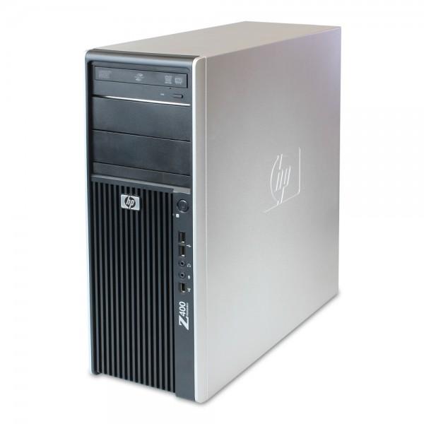 Hewlett-Packard - HP Z400 Workstation - 12GB RAM 500GB HDD Win 10 Pro