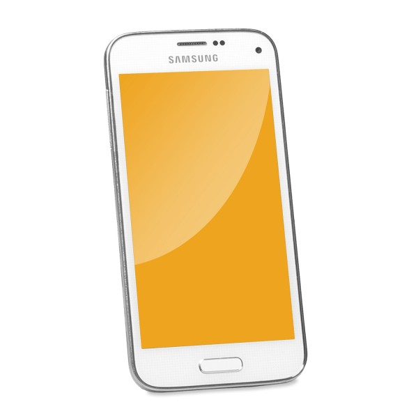 Samsung - Galaxy S5 Mini White - 16 GB