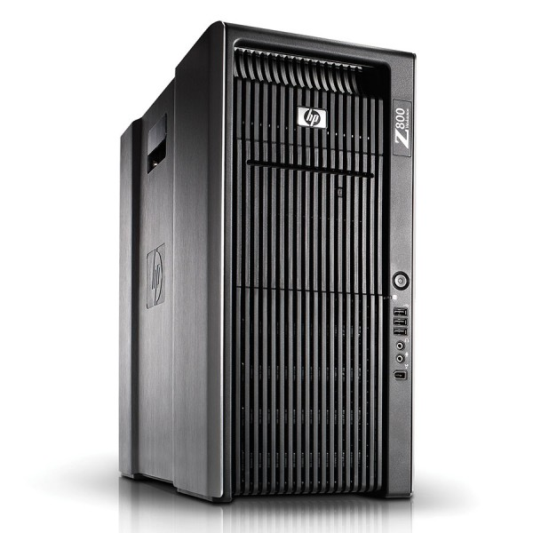 HP Z800 Workstation - 48GB RAM ( 300GB HDD + 600GB HDD + 600GB HDD ) Win 10 Pro