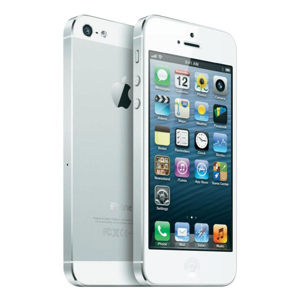 Apple, Inc. - iPhone 5S GSM+CDMA 16GB ME433 Silver - 16 GB