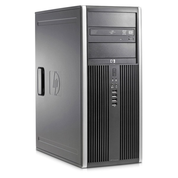 Hewlett-Packard - HP Compaq Elite 8300 CMT - 8 GB 250 GB HDD Win 10 Home