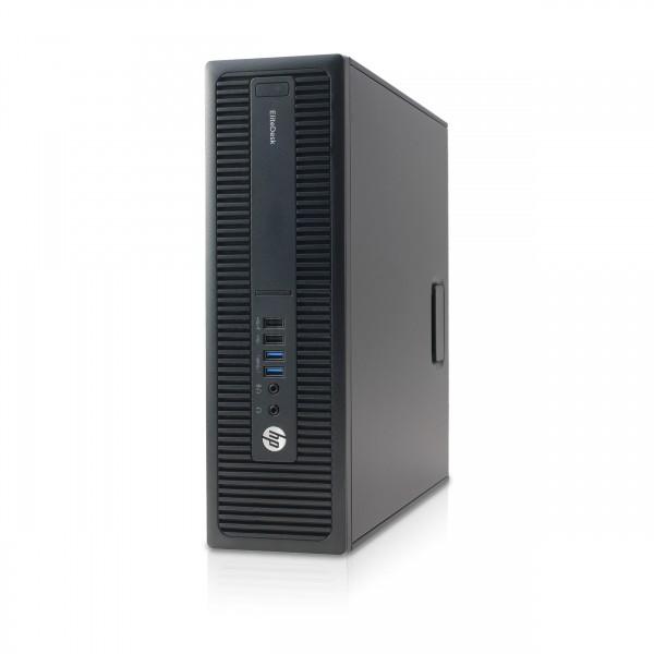 Hewlett-Packard - HP EliteDesk 800 G2 SFF - 8 GB - 240 GB SSD Win 10 Pro