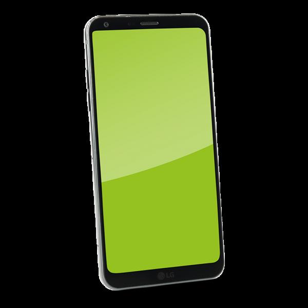 LG - Q6+ Black - 64 GB